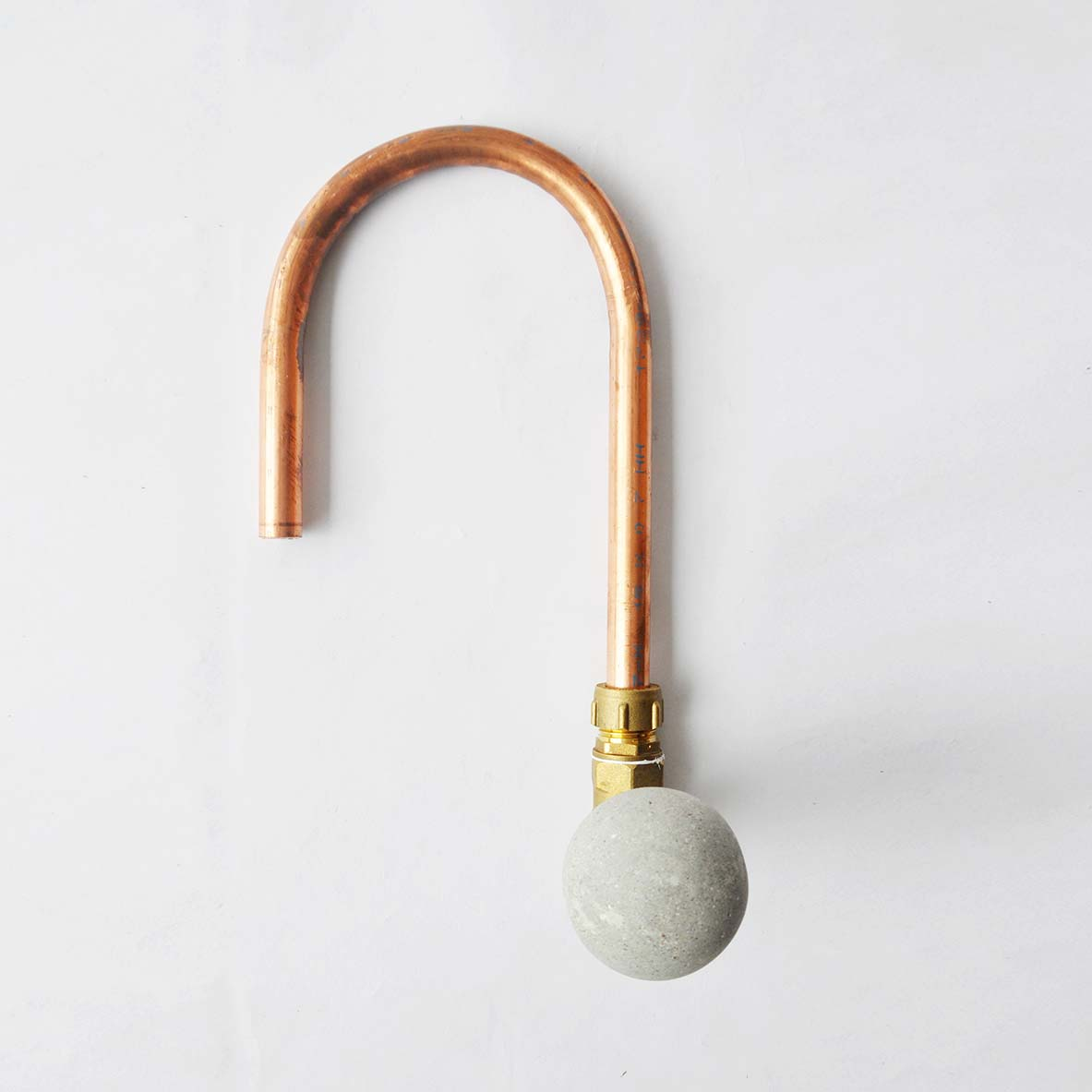 SPHERE CONCRETE & COPPER TAP