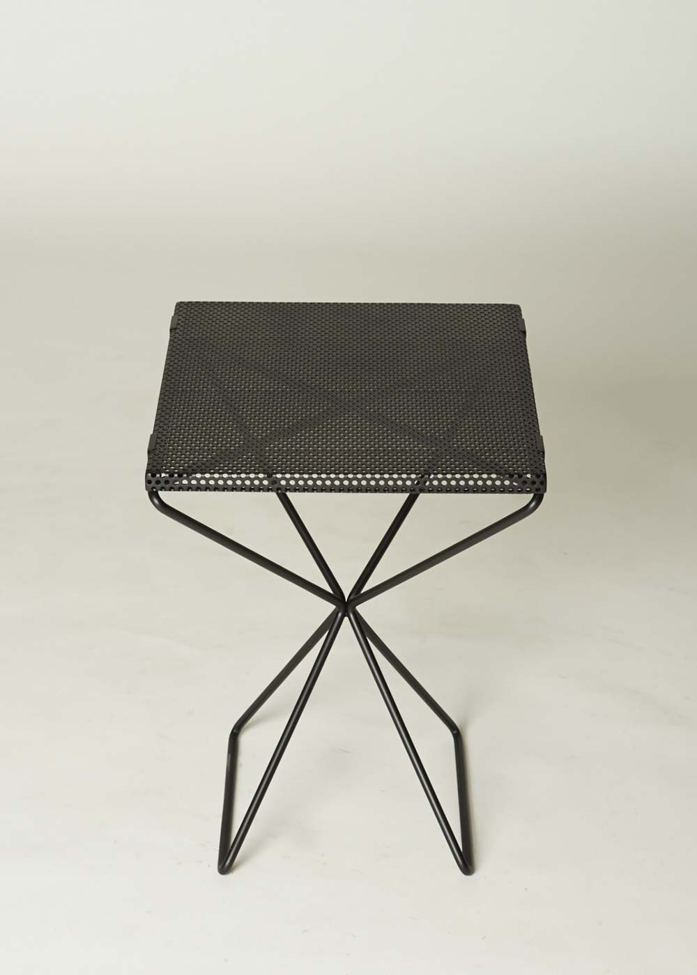XX STEEL SIDE TABLE (Perforated)